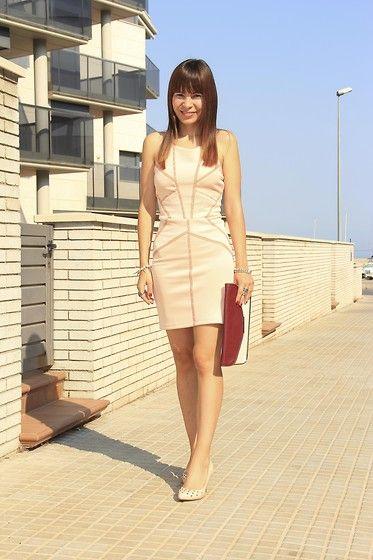 Pearl dress! (by Sandra  P) http://lookbook.nu/look/3989632-Pearl-dress