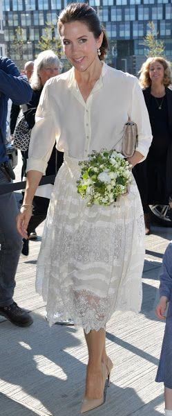 Princess Mary at the opening of Copenhagen Fashion Summit 2016  12 May.