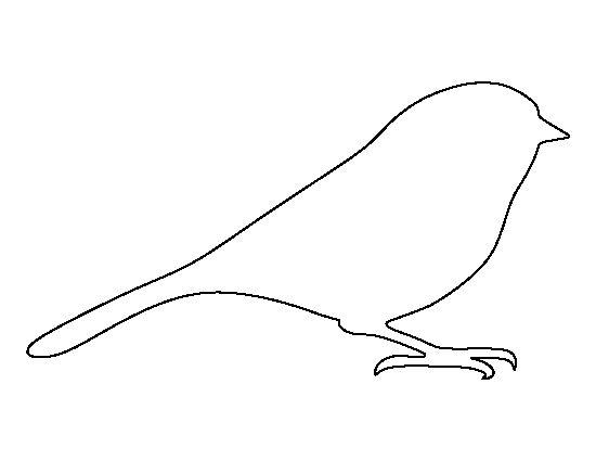 Chickadee Template