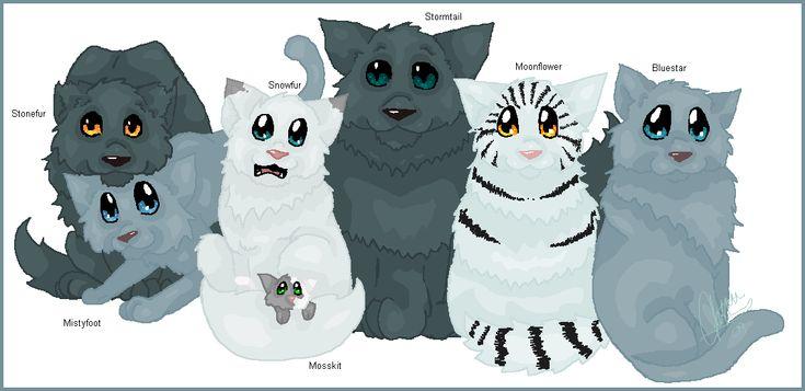 Warrior Cats Blossomkit Family Portrait...