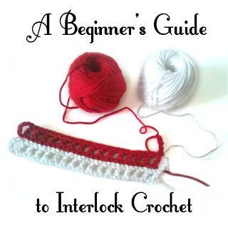 A Beginner's Guide to Interlock Crochet ❥ 4U // hf