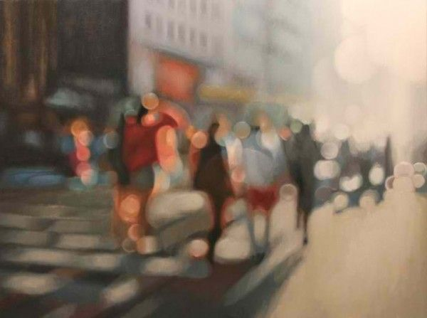 """PHILIP BARLOW'S """"OUT OF FOCUS"""" OIL PAINTINGS (or my life without glasses.)"""