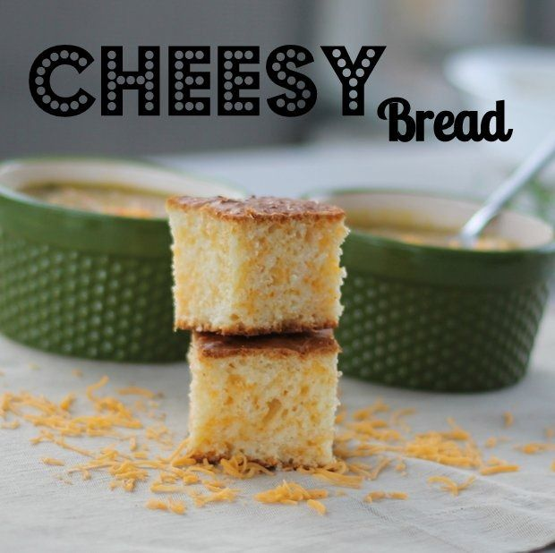 From Laura: {One of my go to recipes that I've had for years: Cheesy Bread.}