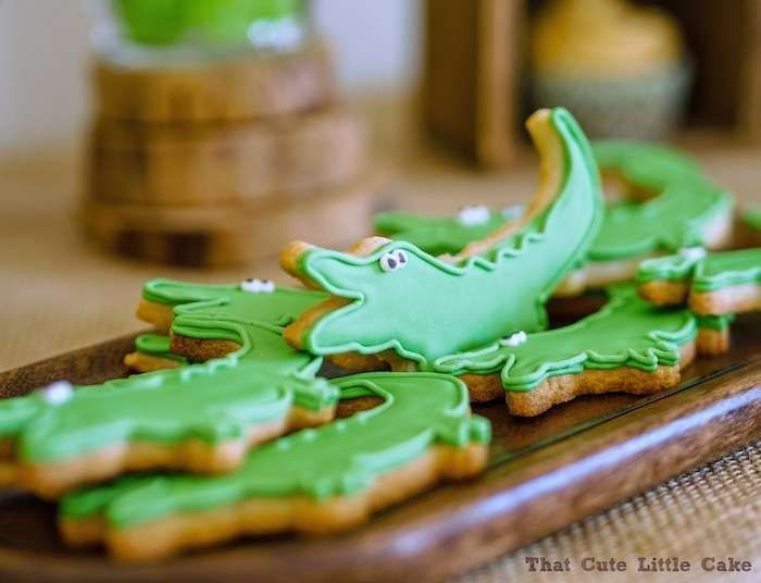 Crocodile, Alligator Birthday Party Ideas | Photo 3 of 11 | Catch My Party