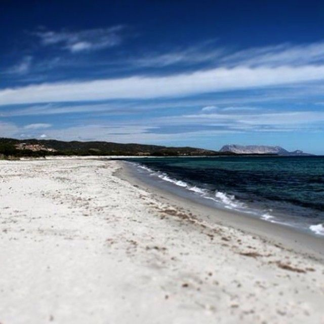 Sardegna - Spiaggia di Budoni d'inverno