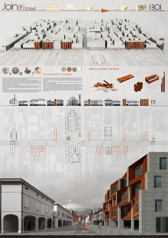 19 best presentation boards images on pinterest for Architecture poste a poste