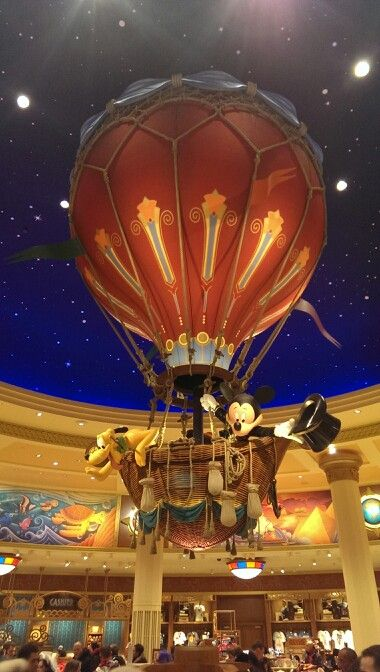 World of Disney store - Disneyland Paris