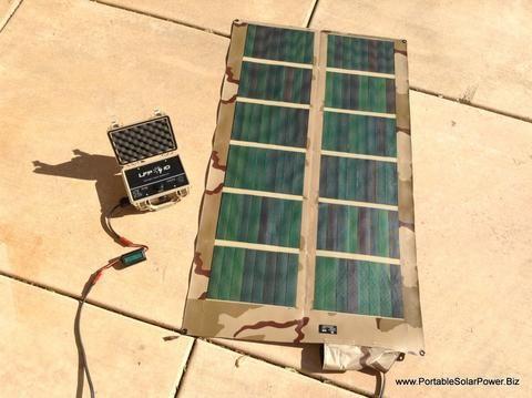 LFP 10 + Plus - Portable Solar Power System