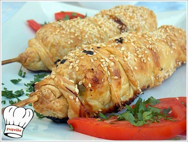 ΚΟΤΟΚΑΛΑΜΑΚΙΑ ΣΕ ΣΦΟΛΙΑΤΑ!!!   Νόστιμες Συνταγές της Γωγώς