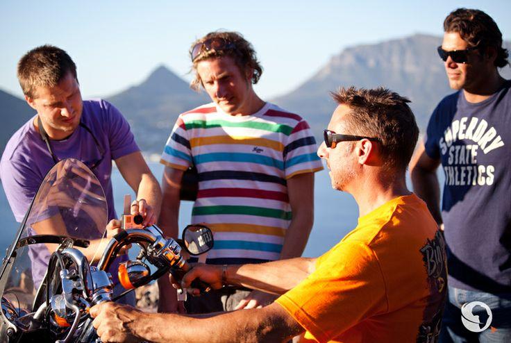 #AfricanAdventure #GoPro #HarleyDavidson #BehindTheScenes #GoProHero3 #SouthAfrica