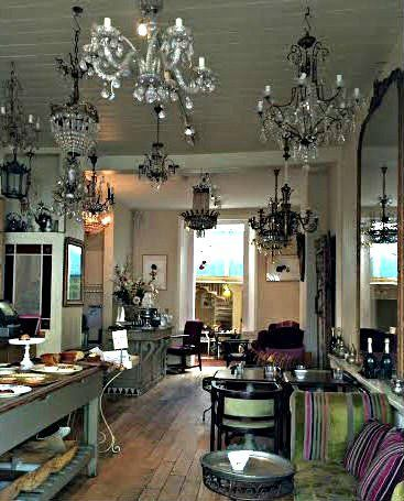 Le Chandelier Cafe Bar In Dulwich London The Lipstick Drawer