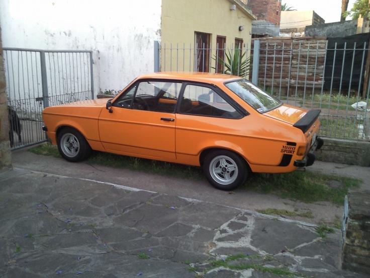 ford escort 1600 sport signal orange cars pinterest. Black Bedroom Furniture Sets. Home Design Ideas