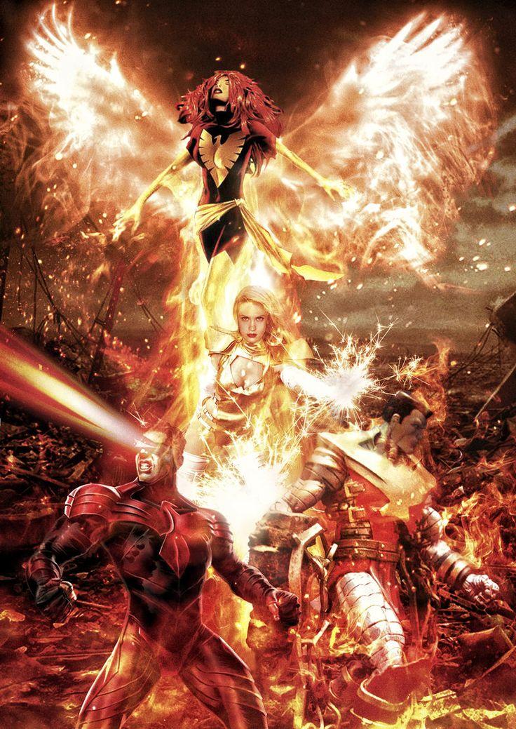 X-men - The Phoenix Force by tomzj1.deviantart.com on @deviantART
