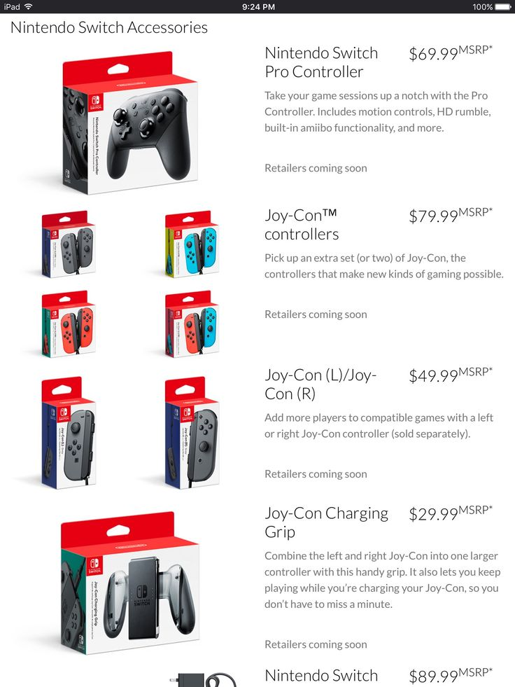 Nintendo Switch Price: how much will it cost?