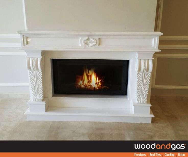 Turn your #Fireplace mantel into a wow-worthy focal point with a #Decorating #Makeover by #WoodAndGas!