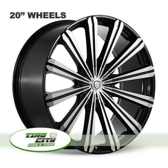 20 inch Borghini B18 MB Wheels