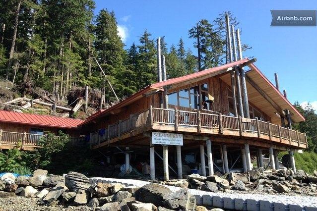 Salmon Run Lodges And Salmon On Pinterest
