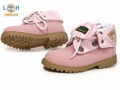 Kids Timberland Pink Boots