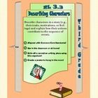 RL 3.3 Describing Characters    Graphic organizer that motivates students to break down different character traits during and after reading.    Aligned with Common Core Standards fo...