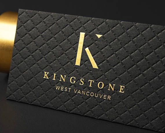 Luxury Black Business Card Design With Pattern And Print Etsy In 2021 Black Business Card Business Card Design Black Luxury Black Business Cards