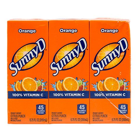 Sunny D Citrus Punch Juice Boxes, 3-ct. Packs