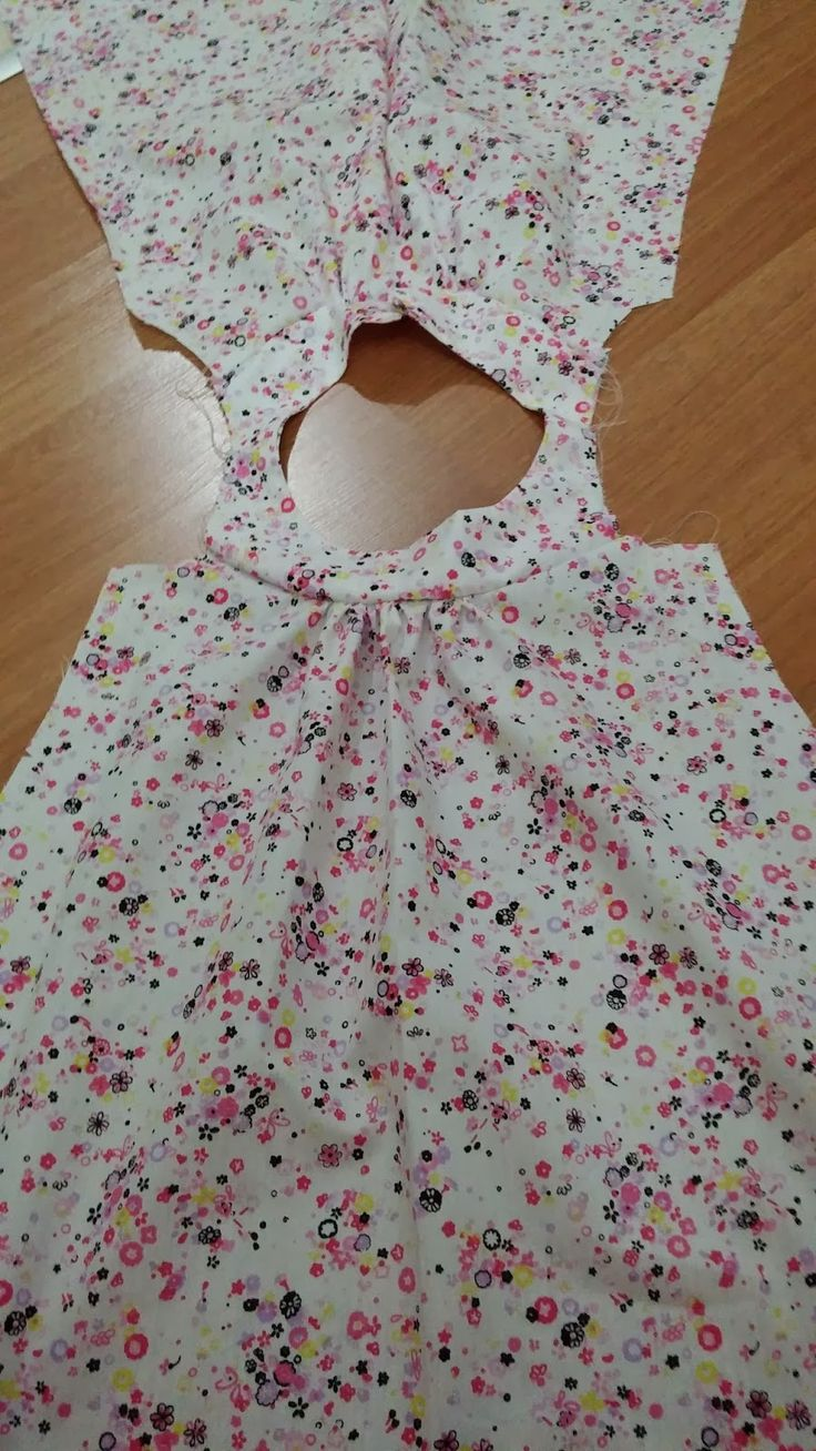 Hobbylst Ilknur...: Bebek Elbisesi Dikimi / How to sew girl dress