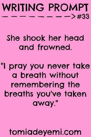 Writing Prompt Wednesday: Prompt #33