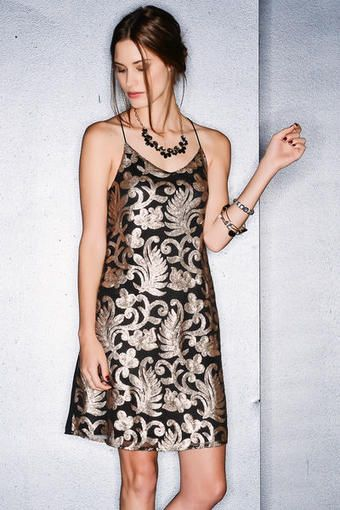 Oliviera Sequin Dress