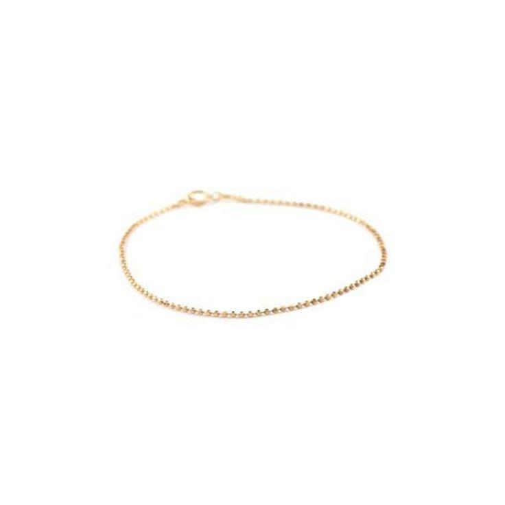 Pernille Corydon Facet plain bracelet - gp