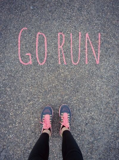 Sometimes the hardest part is putting your shoes on.   Running Tips for Beginners   Motivational