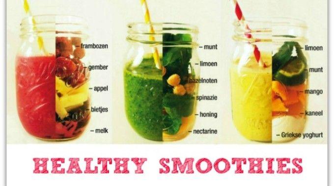 Gezonde Smoothie Recepten Food Blog Eten Volgens Mij