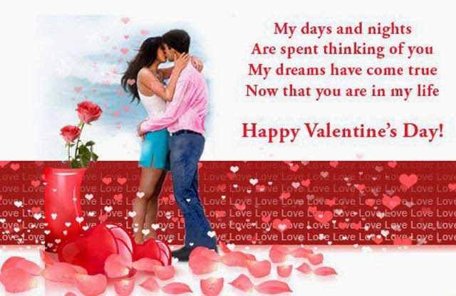 valentine day sms for girlfriend in english