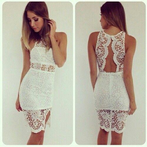 Beautiful sexy lace dress
