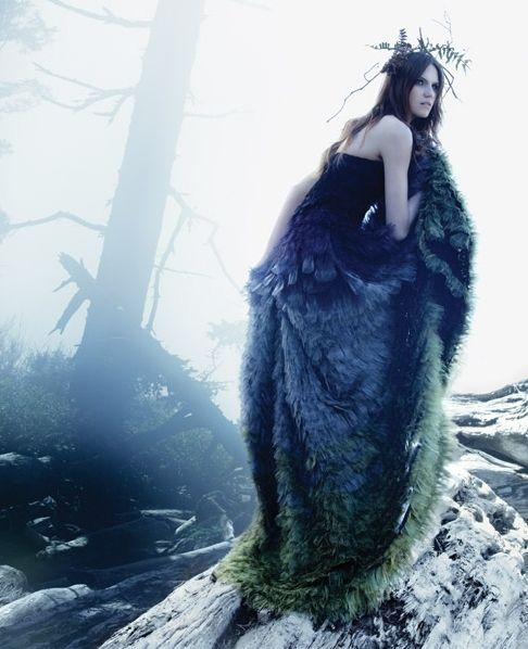 woodland fairy couture