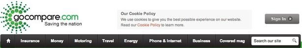 17 useful examples of EU Cookie Law compliance | Econsultancy