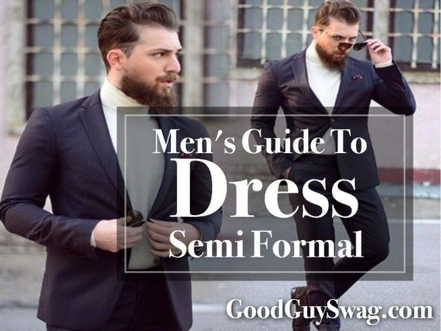 This is perhaps the most confusing of all the dress codes. The term is in itself an oxymoron and therefore it is no surprise that people are often left bemused when it comes to dress semi formal.