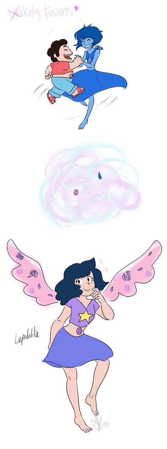 Unlikely Fusions - Lepidolite by 2Mummu on DeviantArt<<ooh I like this