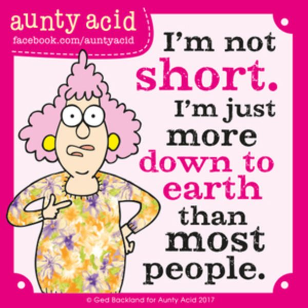 Aunty Acid for 8/23/2017