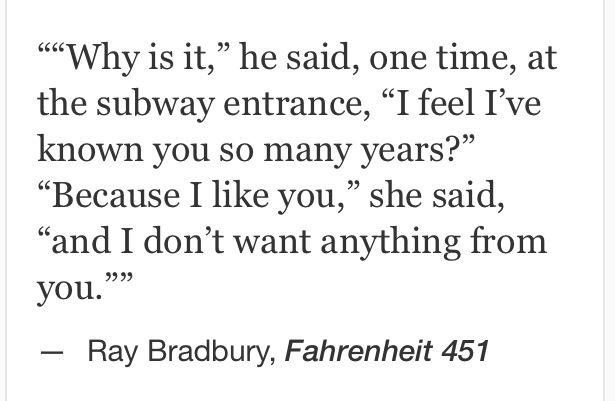 Ray Bradbury, Fahrenheit 451 #quotes