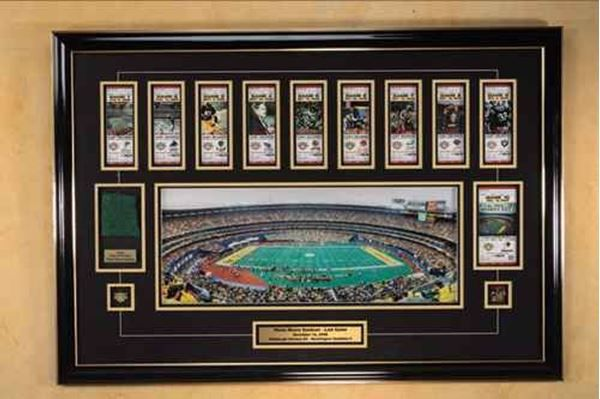 Picture of Pittsburgh Steelers Three Rivers Final Season Ticket Collection
