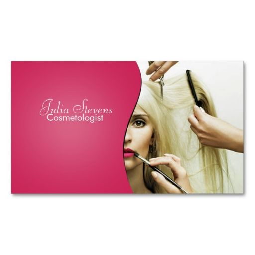 86 best Cosmetologist Business Cards images on Pinterest
