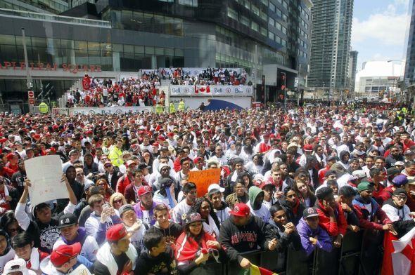 loyal Toronto fans
