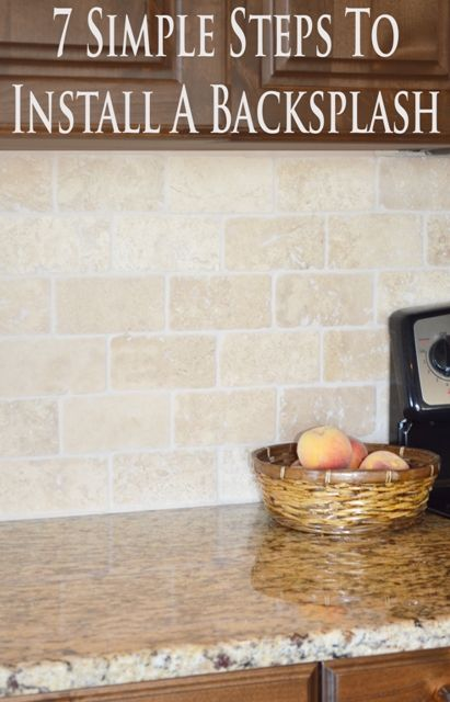 This is a step by step of how to install tile backsplash's as well assome design and layout tips for you as well. Well lets dive right in to installing a tile backsplash. 1. Make sure your backing whether it be sheetrock, greenboard, or cementboard is firmly adhered to the …