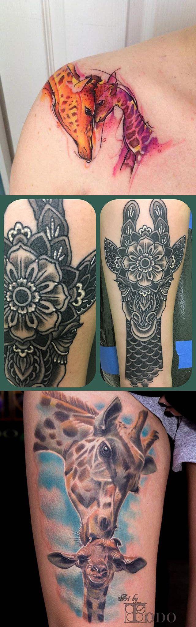 best 25 giraffe tattoos ideas on pinterest small