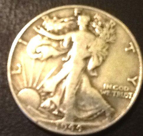 Silver 1944 Walking Liberty!