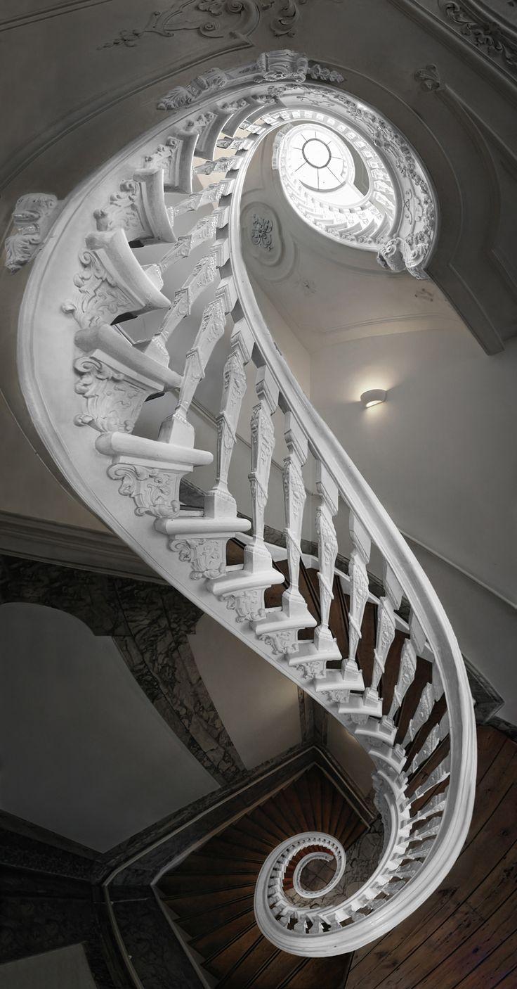 ღღ Silvio Zangarini - Witte Huis | Unique...ces escaliers