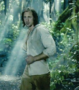 Alexander Skarsgard as Tarzan is all I could ever want in a man