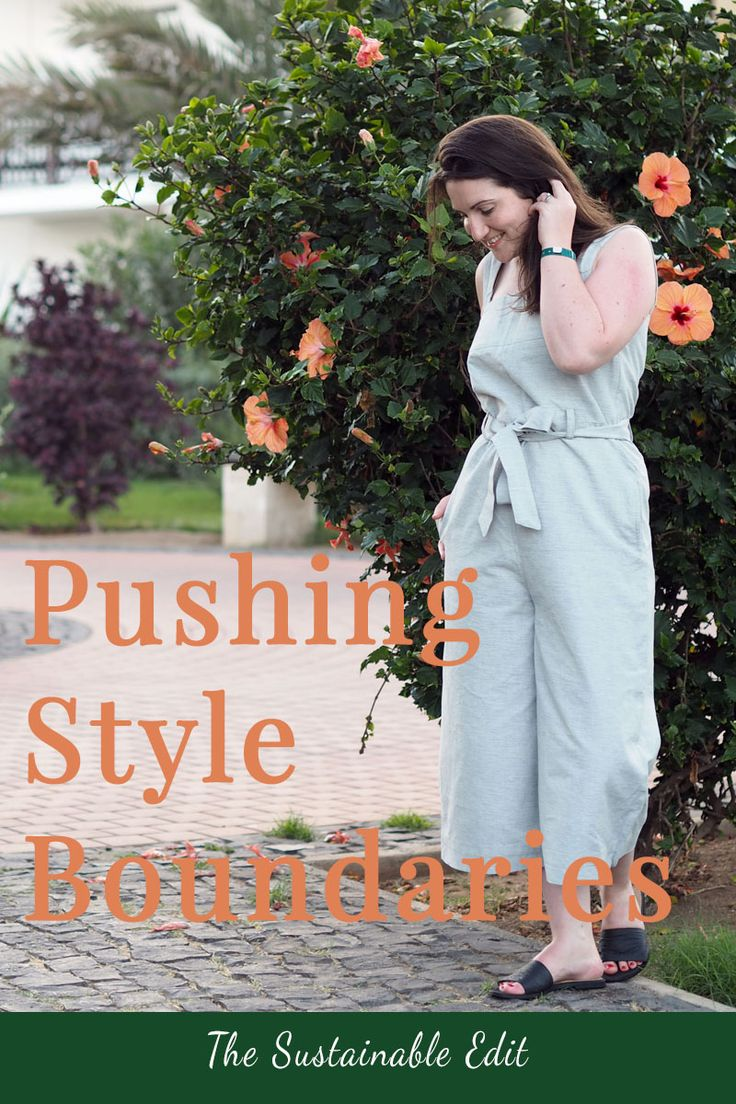 How to Push you style boundaries when you have a minimal or capsule wardrobe. Step out of your style comfort zone with these simple tips