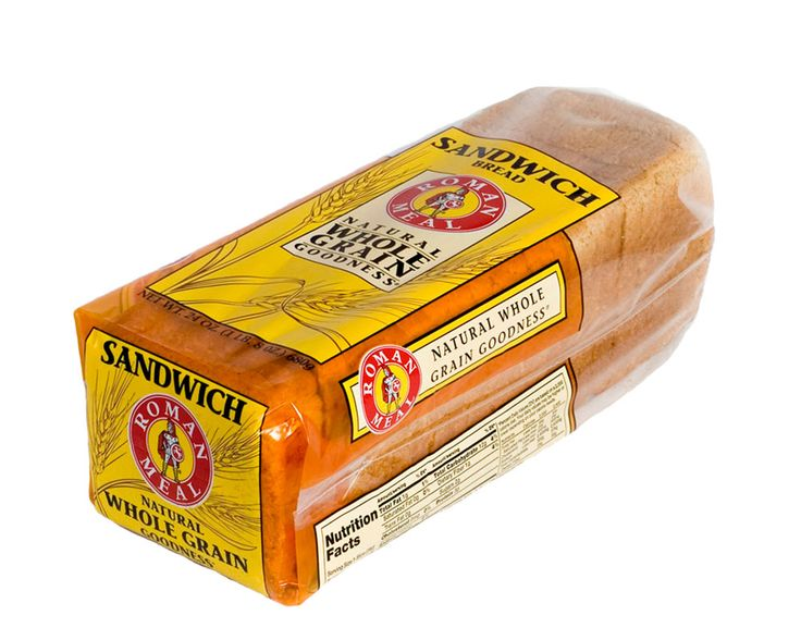 Roman Meal Sungrain 100% Whole Wheat bread is a good ...