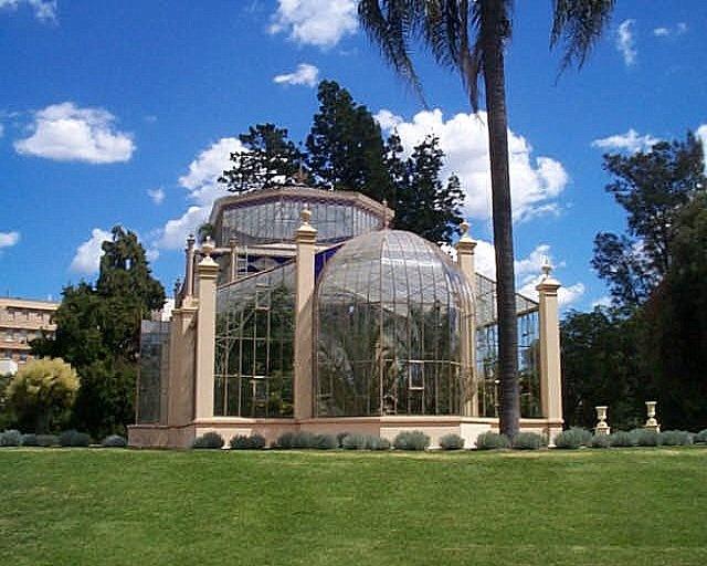 Adelaide botanic garden greenhouse, Australia